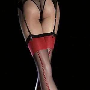 fiore anais seamed stockings