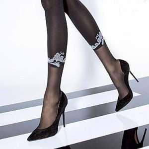 Fiore Morena Black Tights