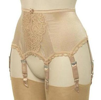 Cleopatra Capri 8 Strap Suspender Belt