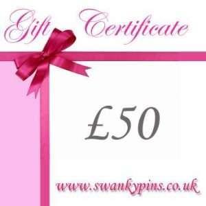 £50 Lingerie Gift Voucher