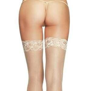 plus size seamed stockings