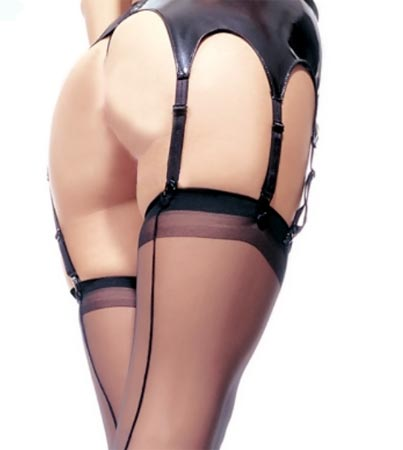 Leg Avenue Retro Style Seamed Stockings