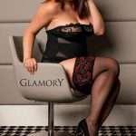 Plus size holdups from Glamory hosiery