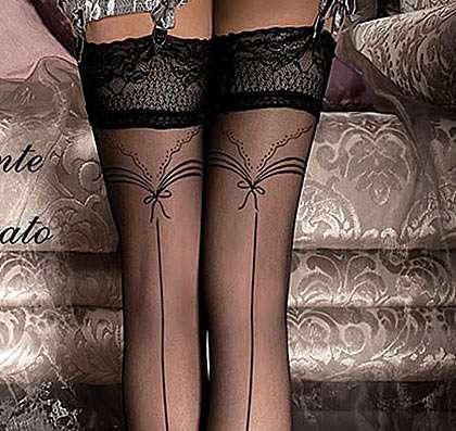 Ballerina 242 seamed holdup stockings