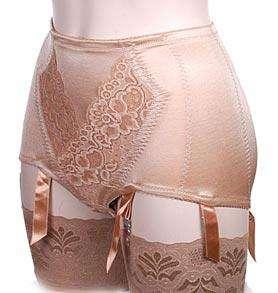 lingerie, shapewear gold pantygirdle