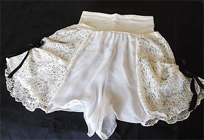 Silk and Lace French Knickers