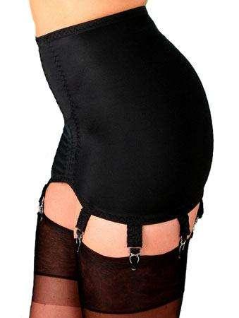 d660f41af4a 8 Strap Suspender Girdle in Black or White