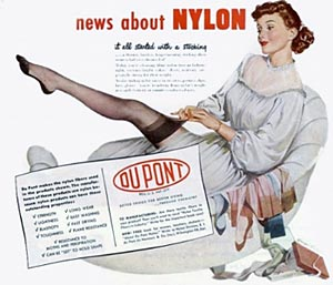 dupont nylon stockings