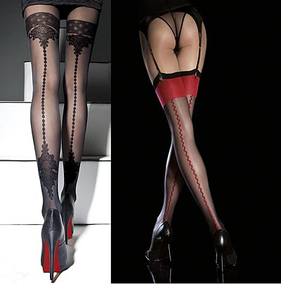 Do you wear stockings or tights?