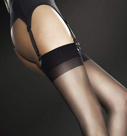 fiore justine stockings in tan