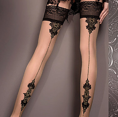 Ballerina 419 hold-up stockings