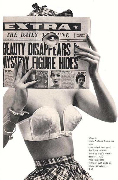 vintage bullet bra by Maidenform