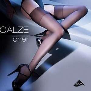 Gabriella Cher, 15 den black stockings