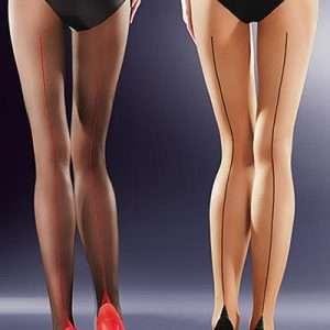 Gabriella Bella contrast seam tights