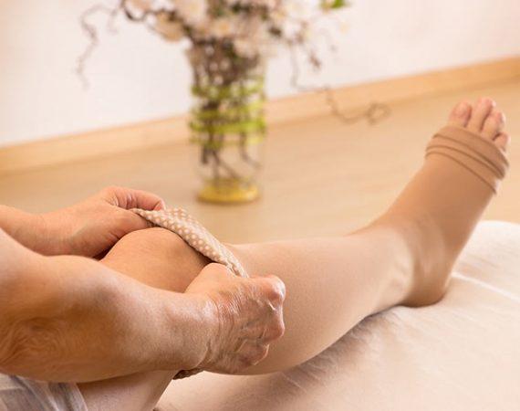 compression stockings - how do I keep them up?