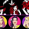 What is the difference between burlesque and pin-up